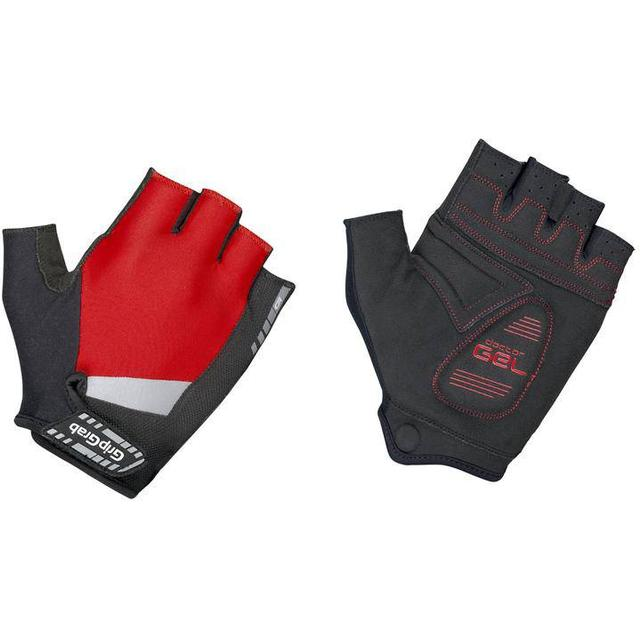 Gripgrab SuperGel Padded Short Finger Gloves Unisex - Red