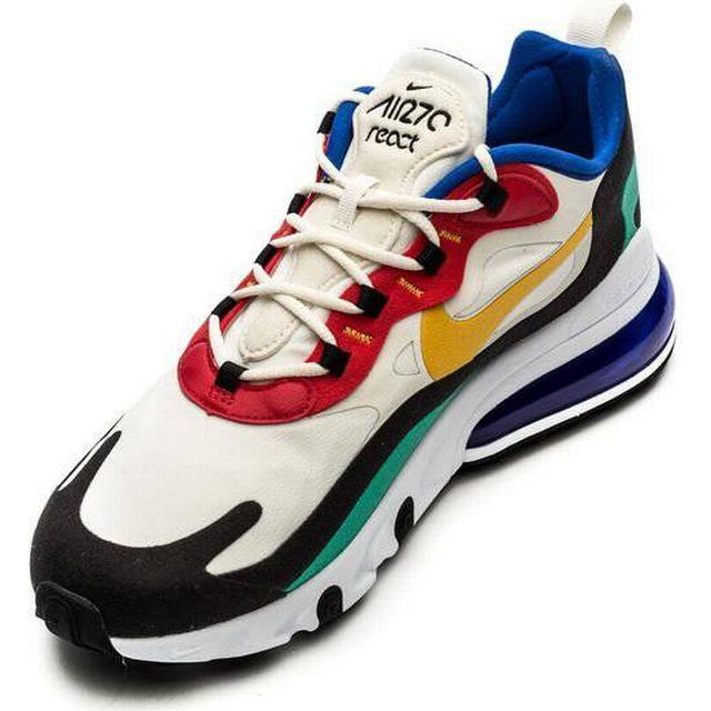 Men's Nike Air Max 270 React Bauhaus PhantomUniversity RedBlackUniversity Gold Shoes