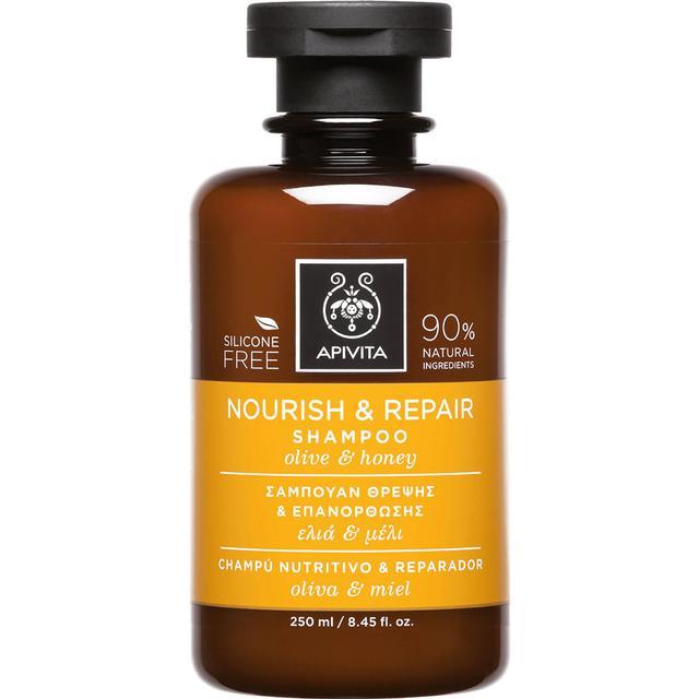 Apivita Holistic Hair Care Nourish & Repair Shampoo Olive & Honey 250ml