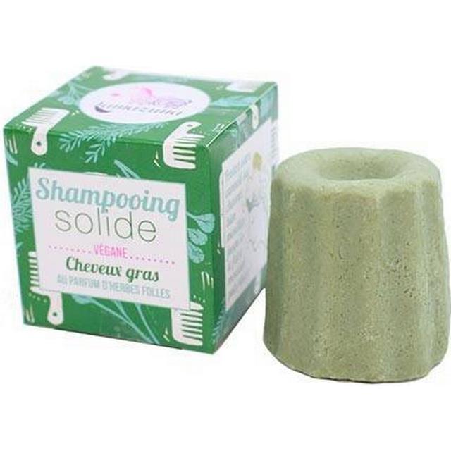 Lamazuna Solid Shampoo Oily Hair Wild Herbs 55g