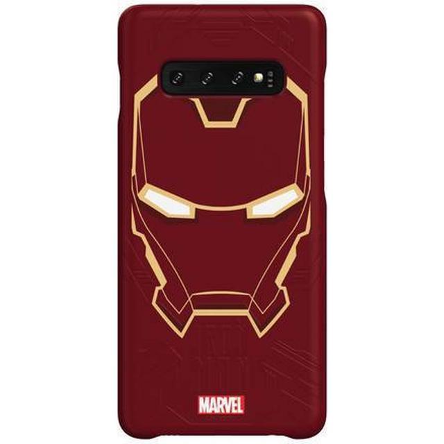 Samsung Iron Man Smart Back Cover (Galaxy S10+)