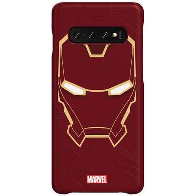 Samsung Iron Man Smart Back Cover (Galaxy S10)