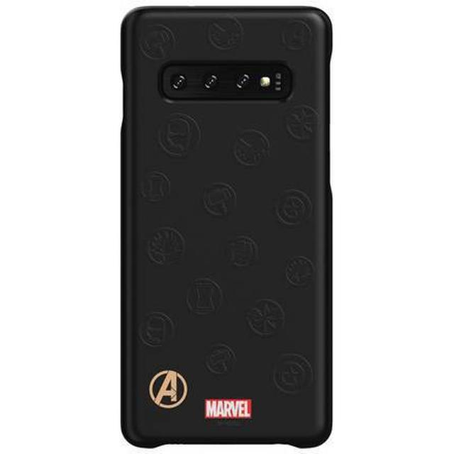 Samsung Avengers Logo Smart Back Cover (Galaxy S10)