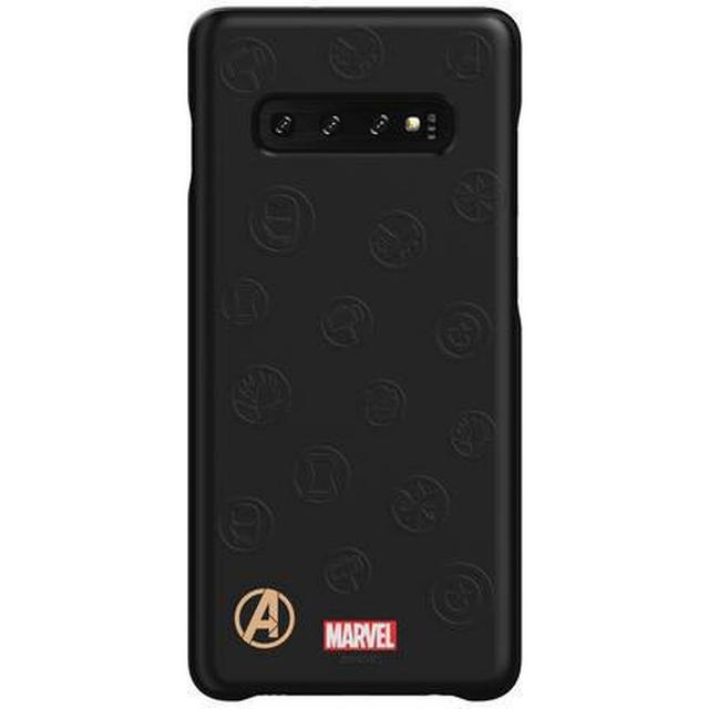 Samsung Avengers Logo Smart Back Cover (Galaxy S10+)