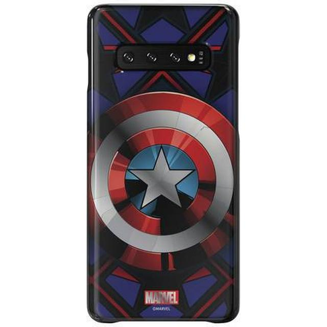 Samsung Captain America Smart Back Cover (Galaxy S10)