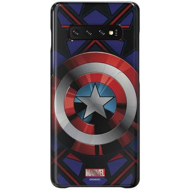 Samsung Captain America Smart Back Cover (Galaxy S10+)