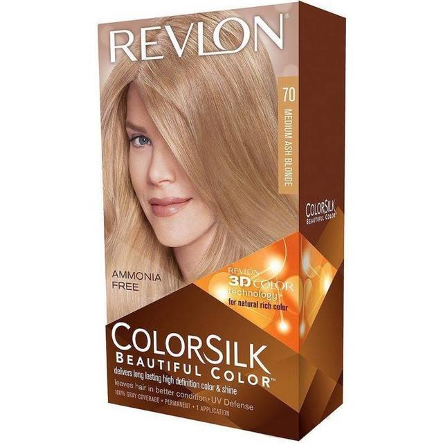 Revlon ColorSilk Beautiful Color #70 Medium Ash Blonde