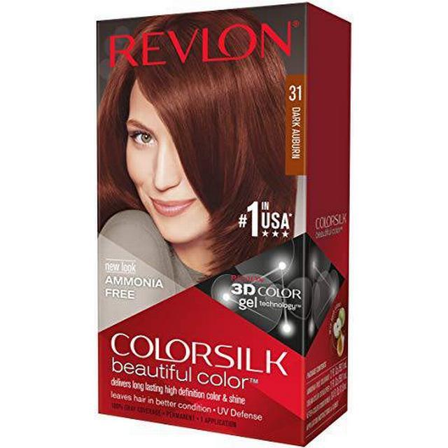 Revlon ColorSilk Beautiful Color #31 Dark Auburn