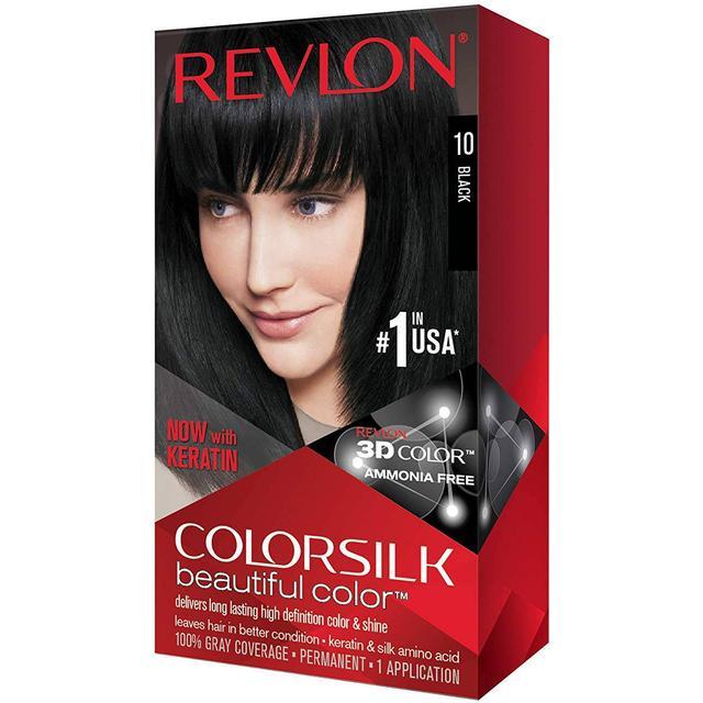 Revlon ColorSilk Beautiful Color #10 Black