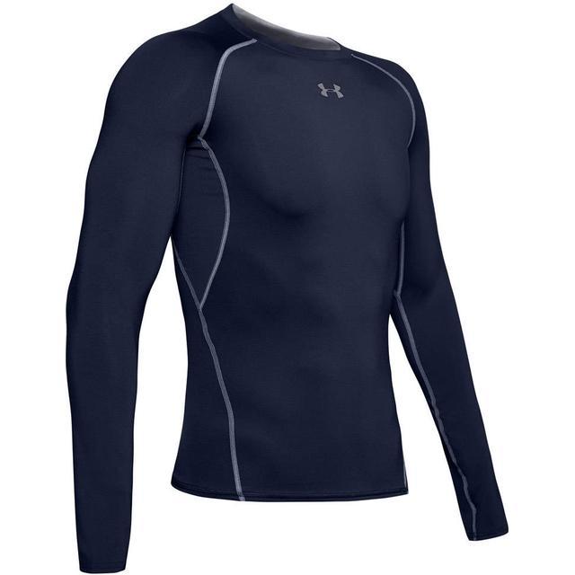 Under Armour HeatGear Armour Long Sleeve Compression Shirt Men - Navy