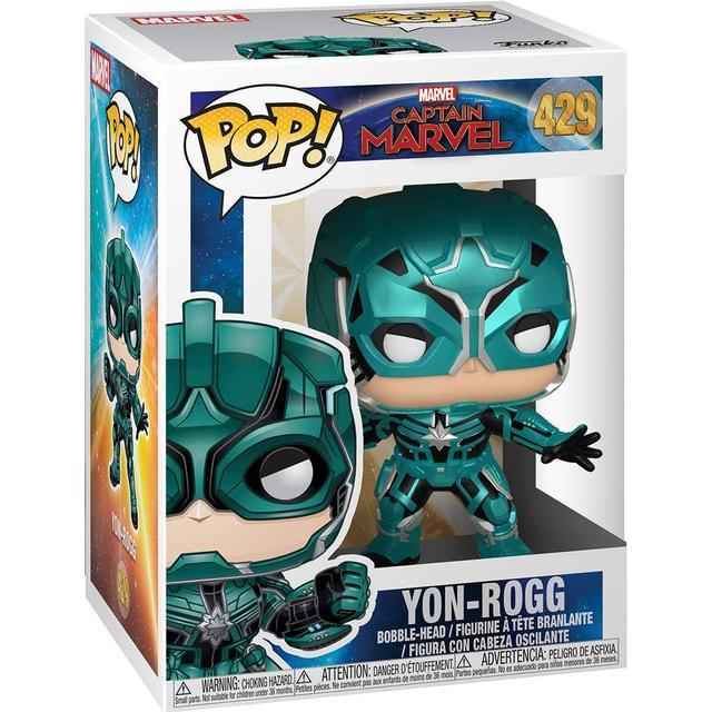 Funko Pop! Movies Captain Marvel Yon Rogg Star Commander