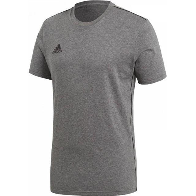 Adidas Core 18 T-Shirt Men - Dark Grey Heather/Black