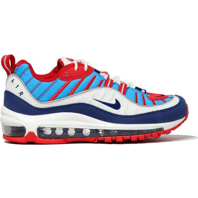 Nike Air Max 98 W Summit WhiteUniversity RedReflect SilverBlue Void