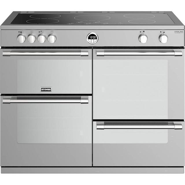 Stoves Sterling S1000EI Stainless Steel