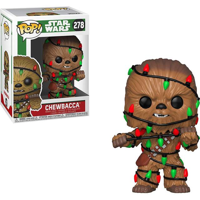 Funko Pop! Star Wars Holiday Chewbacca with Lights