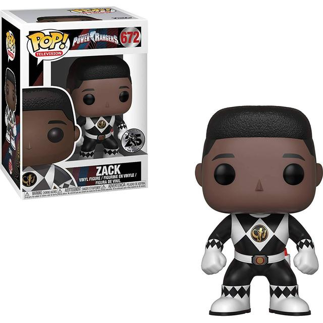 Funko Pop! Television Power Rangers Black Ranger Zack