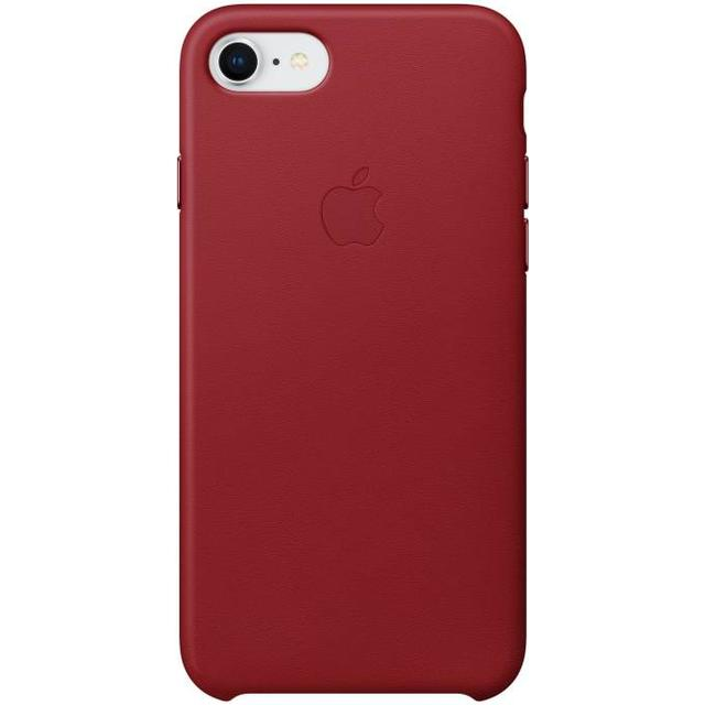 Apple Leather Case (PRODUCT)RED (iPhone 7/8)