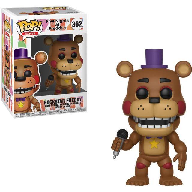 Funko Pop! Games Five Nights at Freddy's Rockstar Freddy Fazbear