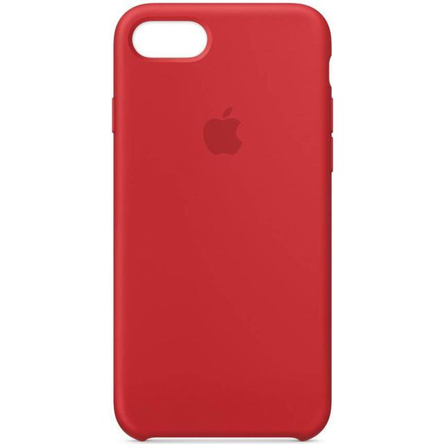 Apple Silicone Case (PRODUCT)RED (iPhone 7/8)