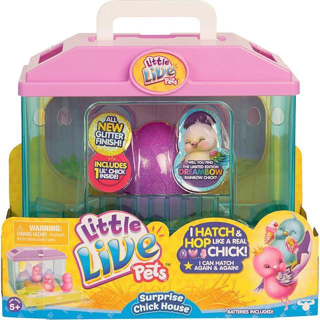 Moose Little Live Pets Surprise Chick House Series 3