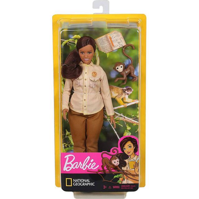 Mattel Barbie Wildlife Conservationist Doll GDM48
