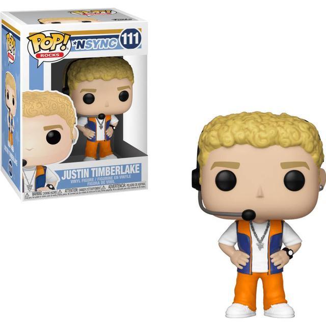Funko Pop! Rocks Nsync Justin Timberlake