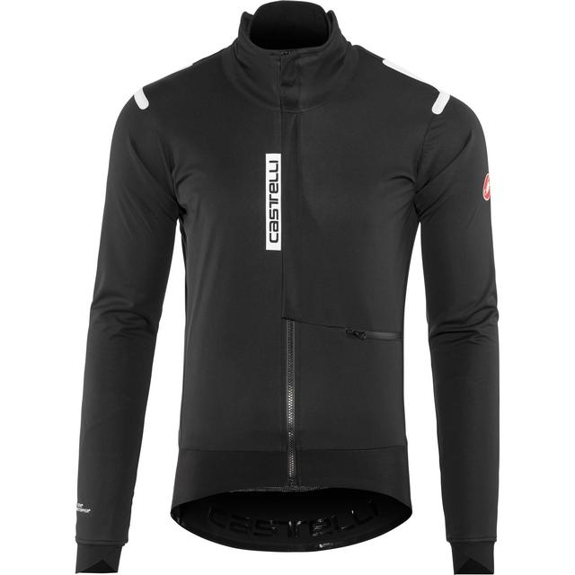 Castelli Alpha Ros Jacket Men - Light Black/Black