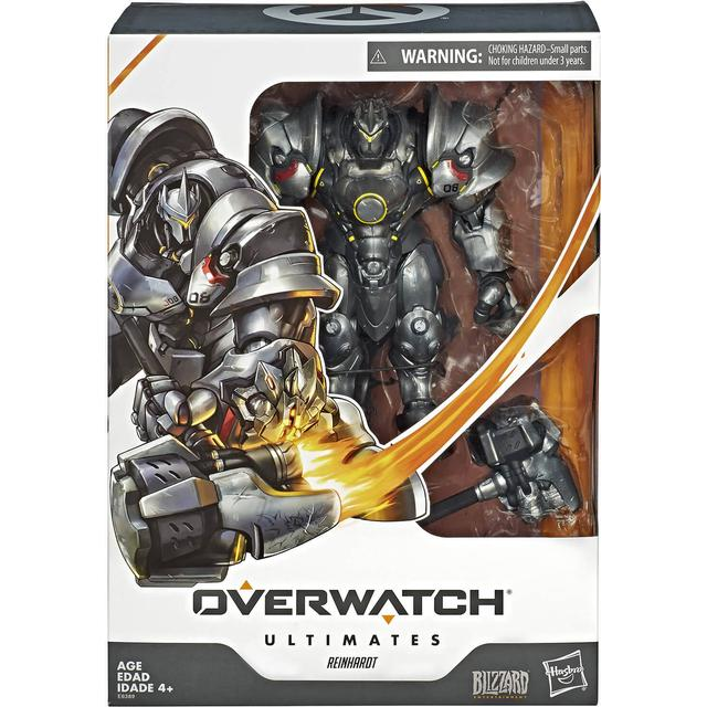 "Hasbro Overwatch Ultimates Series Reinhardt 6"" Collectible Action Figure E6389"