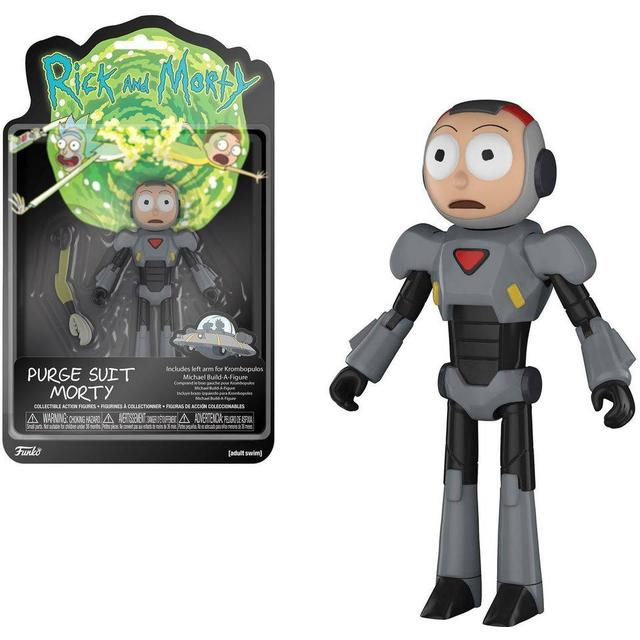 Funko Action Figure Animation Rick & Morty Purge Suit Morty