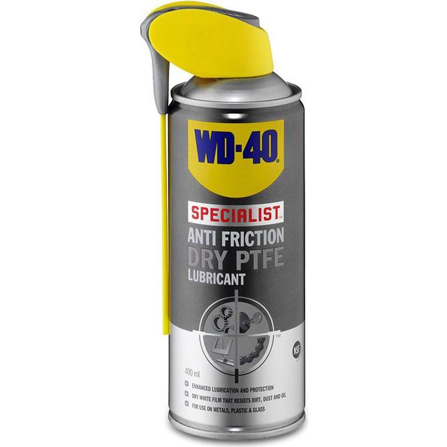 WD-40 Specialist Anti-Friction Dry PTFE Lubricant 400ml Multifunctional Oil