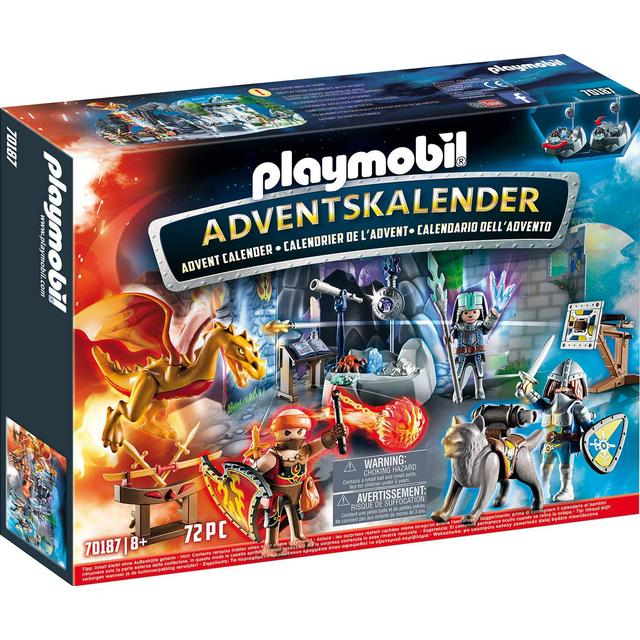 Playmobil Advent Calendar Fight for the Magic Stone 70187