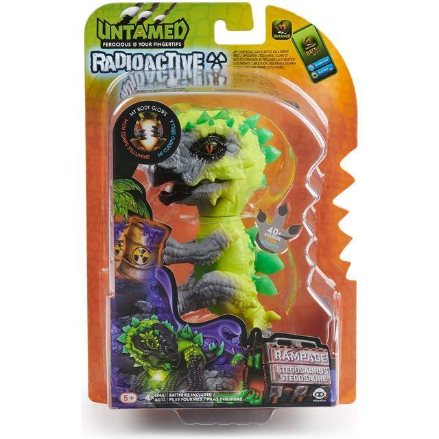 Wowwee Fingerlings Untamed Radioactive Stegosaurus Whiplash