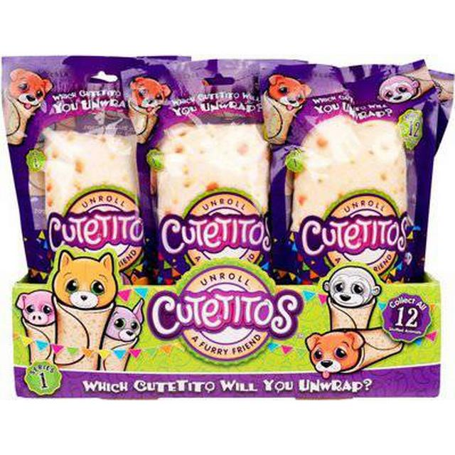 Basicfun Cutetitos Collectible Mystery Stuffed Animals Series 1