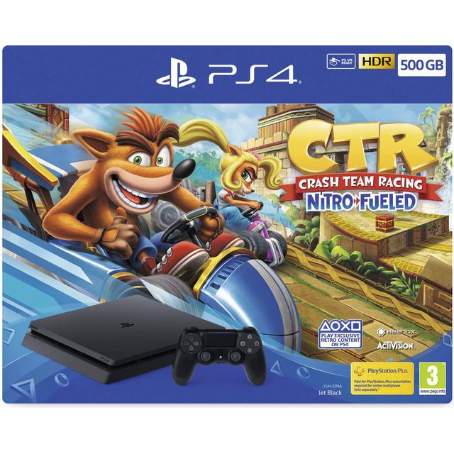 Sony PlayStation 4 Slim 500GB - Crash Team Racing: Nitro-Fueled