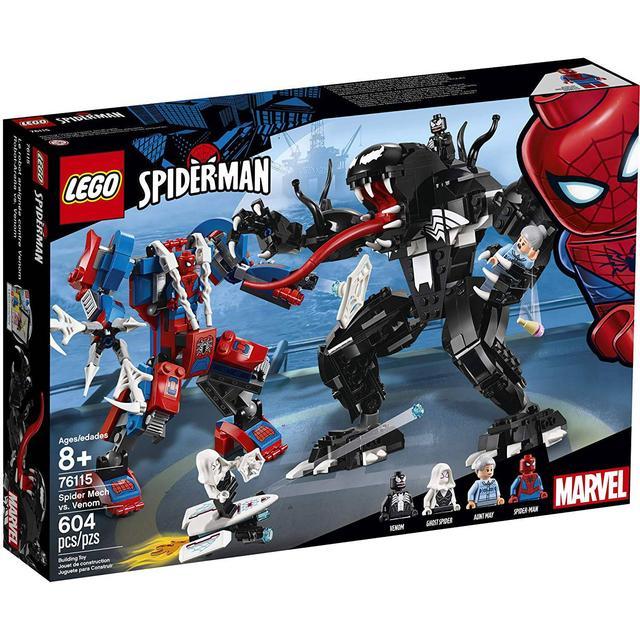 Lego Marvel Super Heroes Spider Mech vs Venom 76115