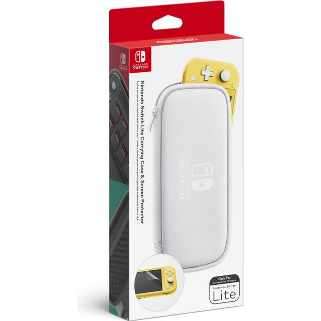 Nintendo Nintendo Switch Lite Carrying Case And Screen Protector
