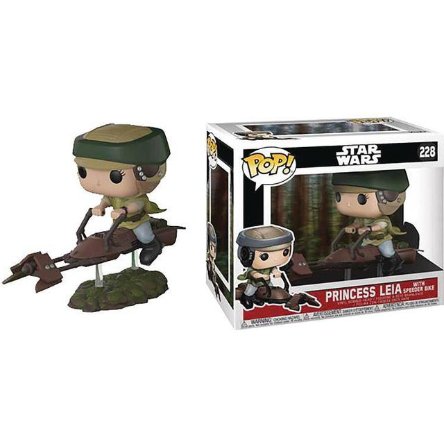 Funko Pop! Vinyl Star Wars Princess Leia With Speeder Bike