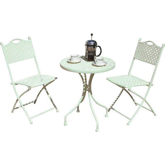 Rowlinson Havana Lattice Bistro Café Group, 1 Table inkcl. 2 Chairs