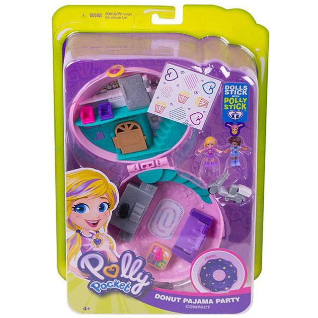 Mattel Polly Pocket Donut Pajama Party