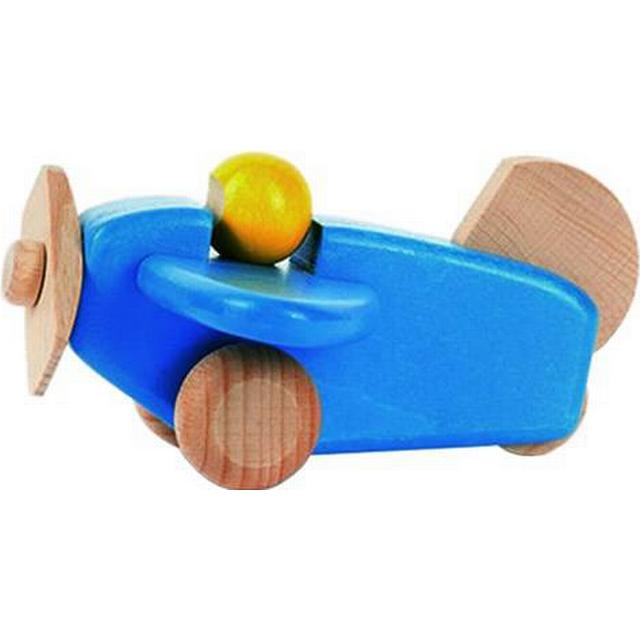 Bajo Wooden Plane With Pilot