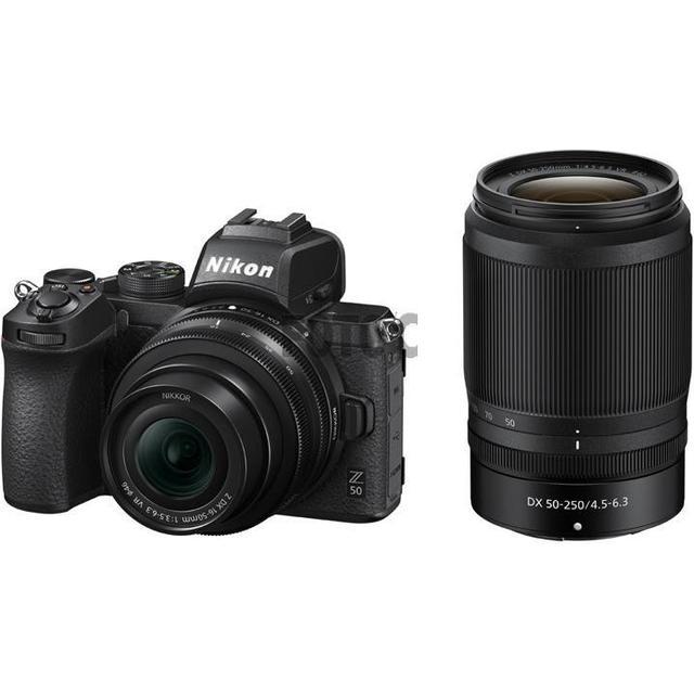 Nikon Z50 + 16-50mm VR + 50-250mm VR
