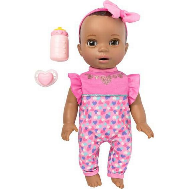 Spin Master Luvabella Newborn Dark Brown Hair Interactive Baby Doll with Real Expressions & Movement