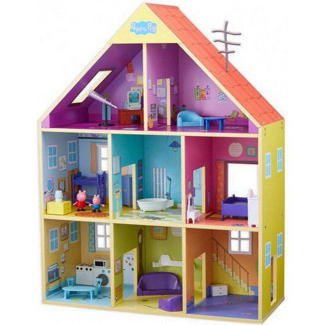 Mattel Peppa Pig Wooden Playhouse