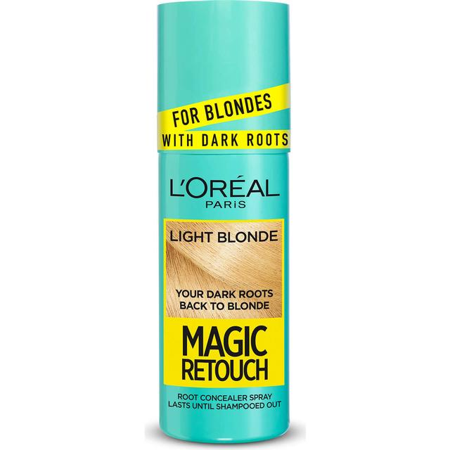 L'Oreal Paris Magic Retouch Instant Dark Root Touch Up Spray Light Blonde 75ml