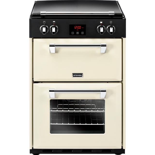 Stoves RICHMOND 600EI Black, Red, Cream