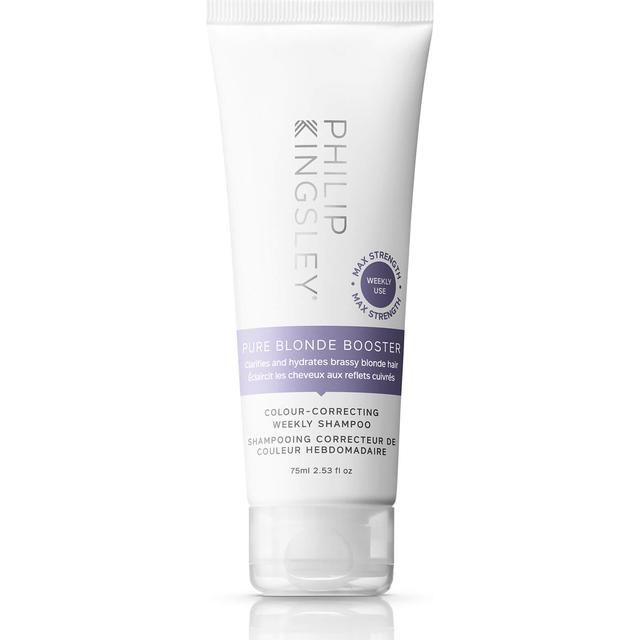 Philip Kingsley Pure Blonde Booster Colour-Correcting Weekly Shampoo 75ml