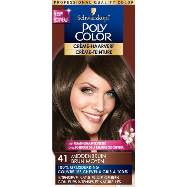 Schwarzkopf Poly Color #41 Medium Brown