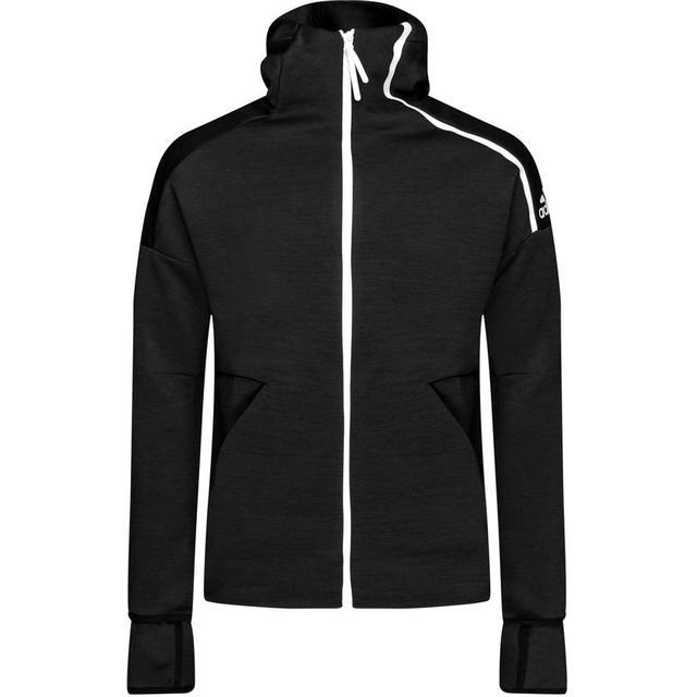 Adidas Z.N.E. Fast Release Hoodie Men - Htr/Black