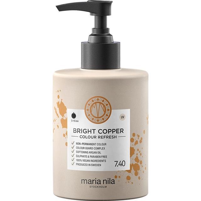 Maria Nila Colour Care Colour Refresh #7.40 Bright Copper 300ml