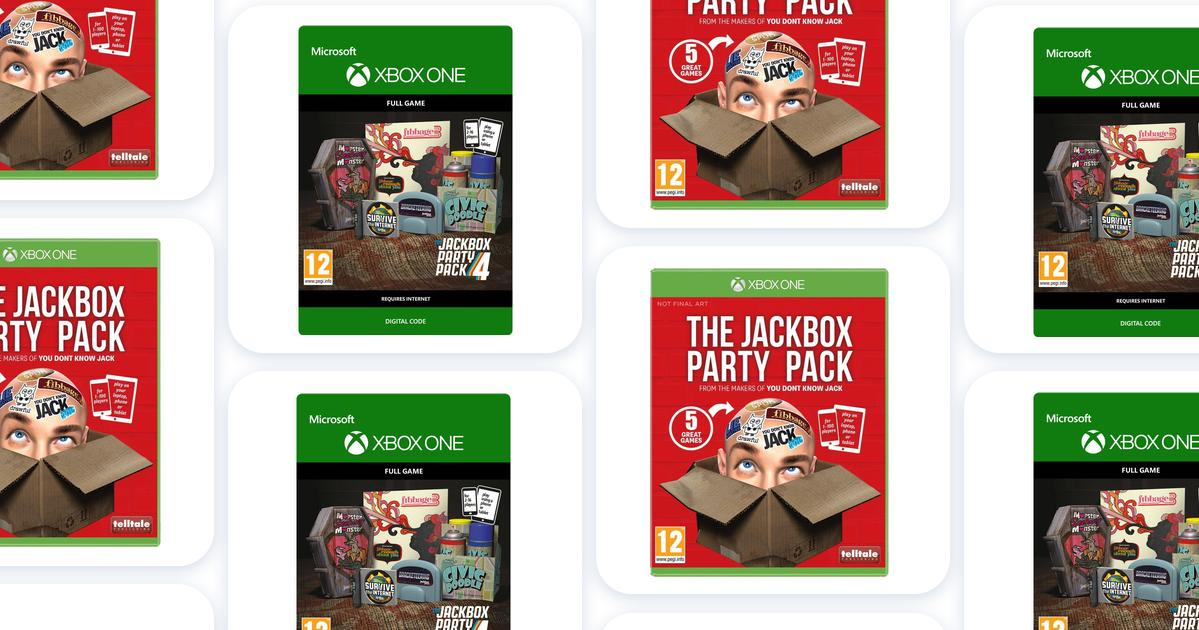 Jackbox party pack xbox one • See lowest price on ...